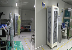 深圳欧贝特卡系统科技有限公司车间加湿项目